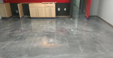 Metallic Epoxy Floors Anchorage
